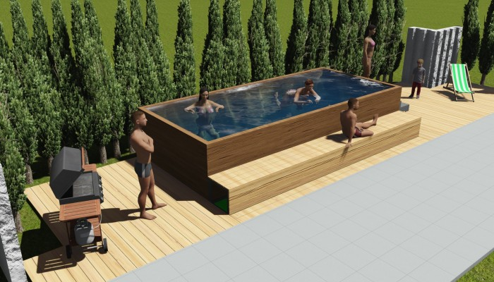C a d gebert multimedia cad marketing schulungen - Swimmingpool aus paletten ...